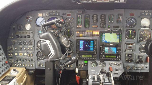Cessna Citation II (VH-JMK) - Cockpit of VH-JMK