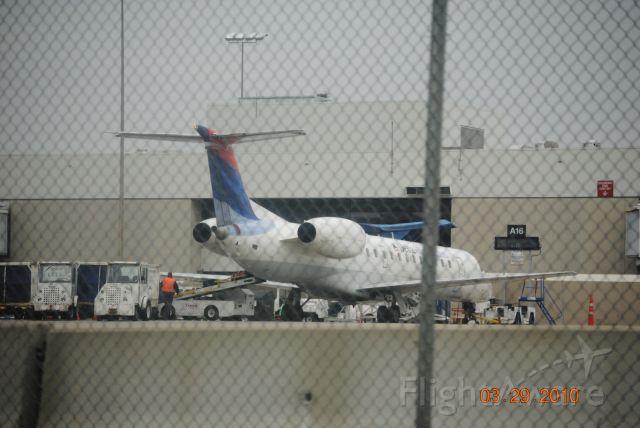 Embraer ERJ-145 — - Parked at KCVG.