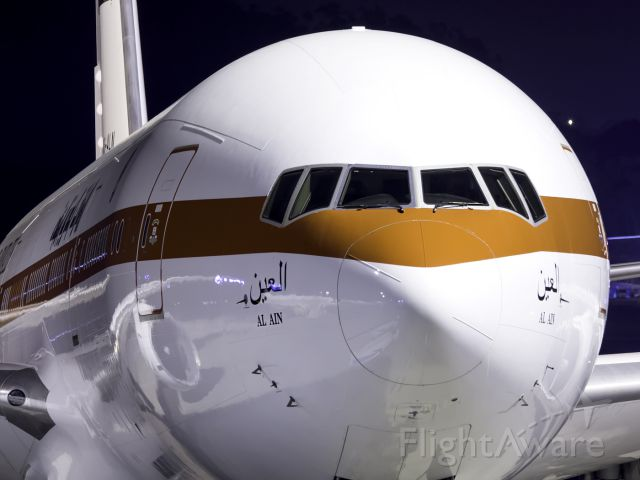 Boeing 777-200 (A6-ALN) - FIRST VISIT TO TENERIFE NORTH, THIS AIRCRAFT AND COMPANY