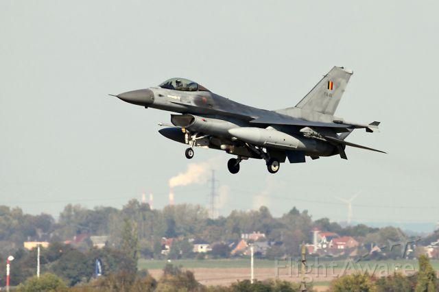 Lockheed F-16 Fighting Falcon (BAFFA81)