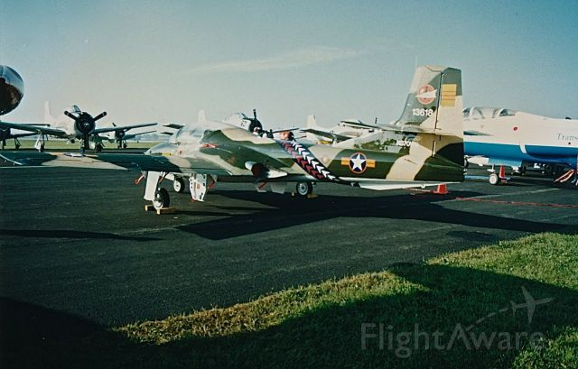 Cessna 318C (N370WB) - T-37 in the marking of the South Vietnam Air Force at an EAA Fly In and Air Show