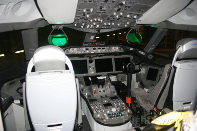 Boeing 787-8 (N787BA) - B787 flightdeck