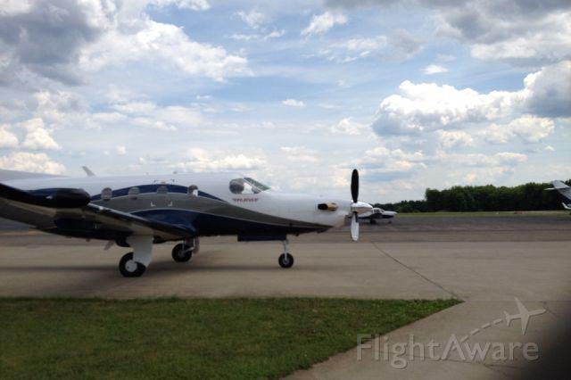 Pilatus PC-12 (N421PP)