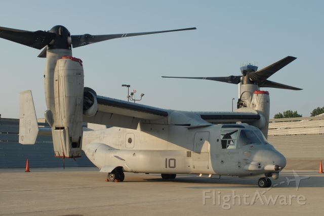 Bell V-22 Osprey — - Side view on Ramp