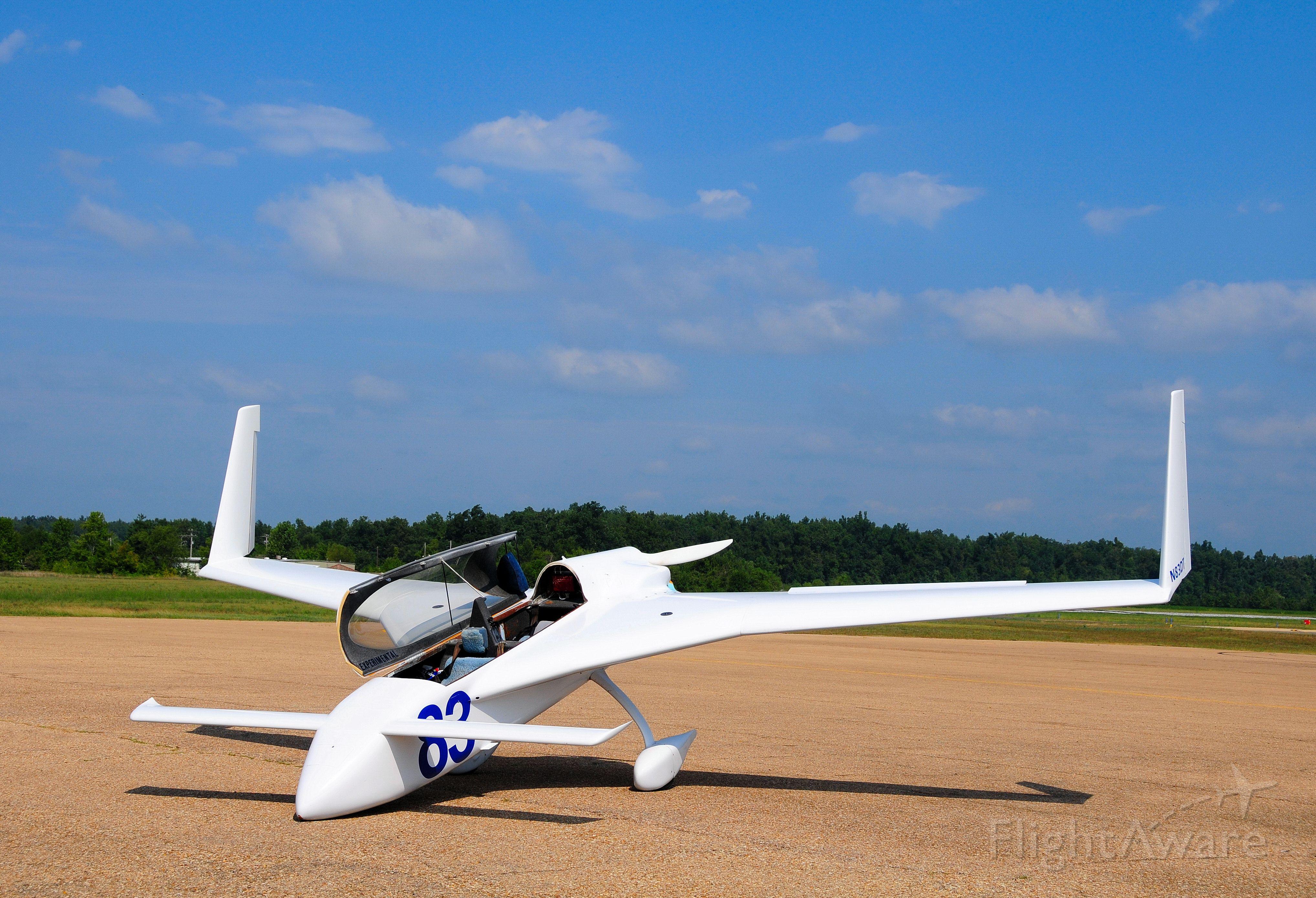 Cessna Citation 1SP (N83DT) - Amateur Built in basement. Neat machine.