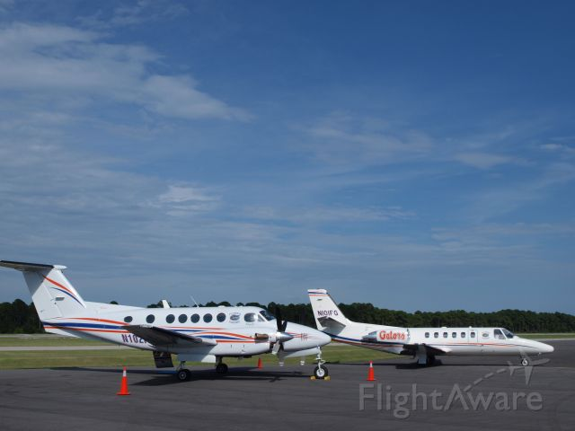 N101FG — - 101FG and 102FG on the ramp at Destin Jet for SEC coaches conference in Destin, FL.