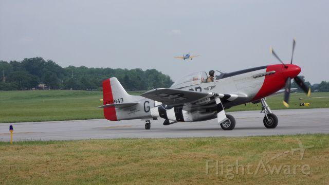 North American P-51 Mustang (SAI10601)