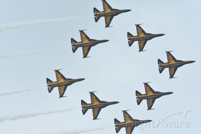 — — - Black Eagles at the Singapore Airshow 2016