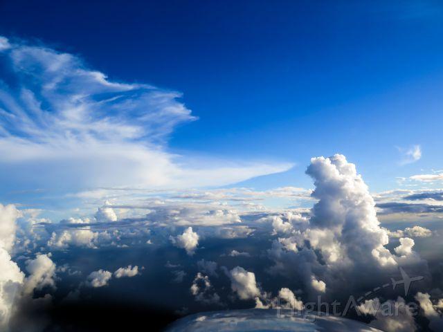 Cessna Skylane (N1967X) - Cloudy day!