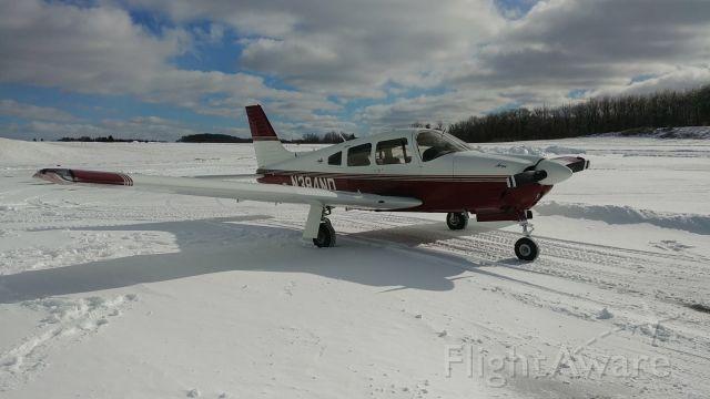 Piper Cherokee Arrow (N384ND) - Moore Aviation @ KBVI.