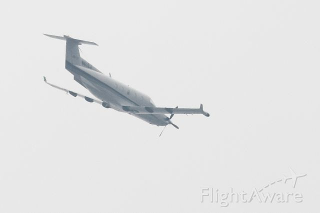 Pilatus PC-12 (N612J) - Flying NW over Research Blvd after flying over my house before turning southbound to Austin Bergstrom 17L.