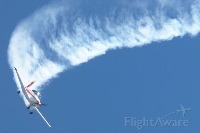 VICTA Airtourer (VH-MRI) - Performing aerobatic maneuvers at the Australia Day Airshow in Perth.