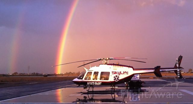 Bell 407 (N101HF) - Currently assigned to Kings County Fire Station #4 in Hanford Ca. courtesy of American Ambulance
