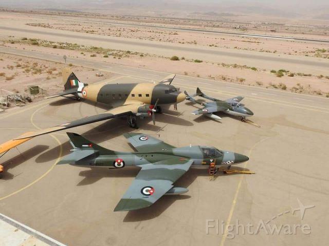 — — - collection of royal jordanian air force aircraft in Aqaba, Jordan