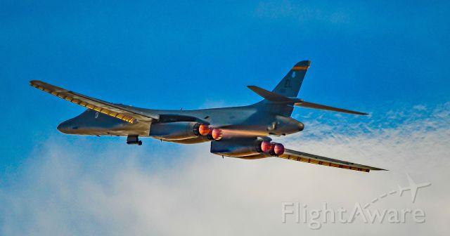 86-0120 — - 86-0120 Air Force Rockwell B-1B Lancer 28th Bomb Wing (28 BW) 37th Bomb Squadron Ellsworth Air Force Base - Rapid City, South Dakota - Red Flag 17-1: Jan. 23 to Feb. 10, 2017<br />Las Vegas - Nellis AFB (LSV / KLSV)<br />USA - Nevada, February 8, 2017<br />Photo: TDelCoro