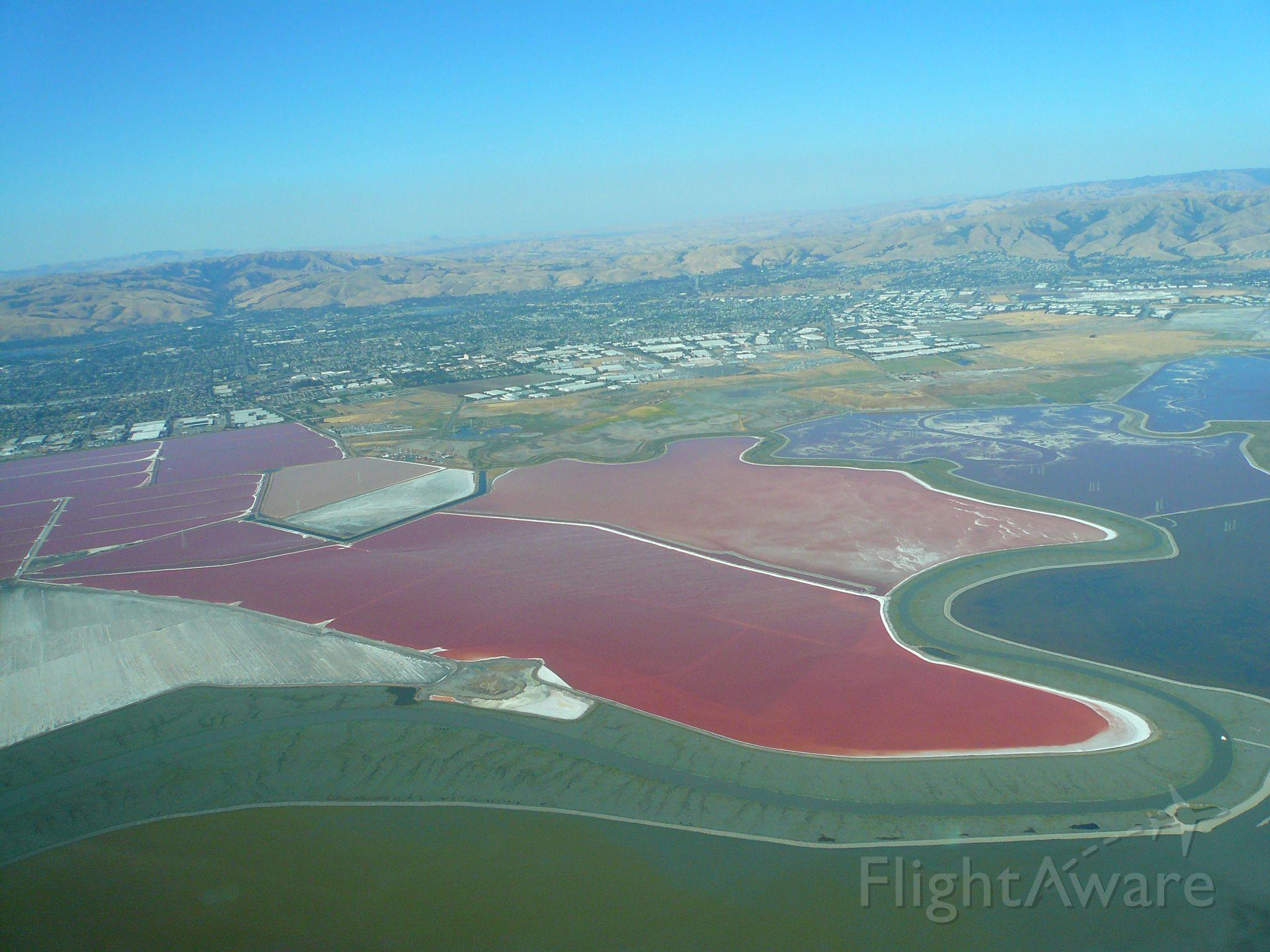 Piper Cherokee (N43434) - Salt Ponds South SF Bay Area