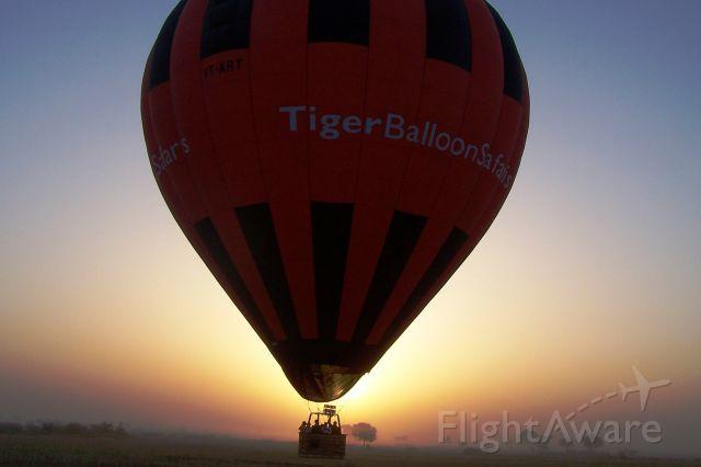 Unknown/Generic Balloon (VT-ART) - Early Morning Balloon Flight in Goa, India.