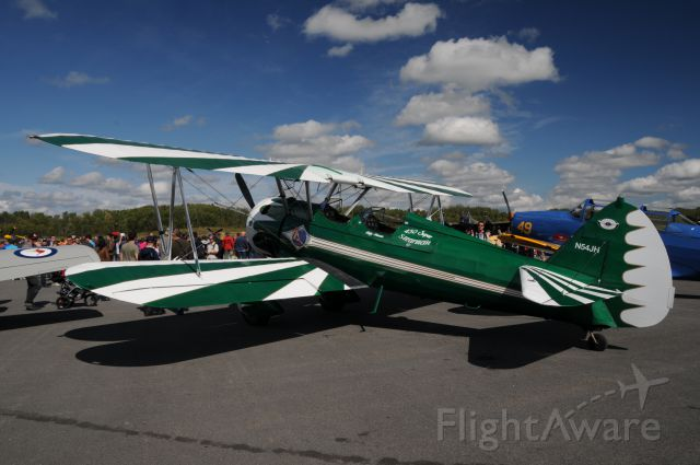 N54JH — - Picture taken at Vintage Wing of Canada open house
