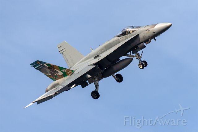 McDonnell Douglas FA-18 Hornet — - NAS Fort Worth JRB