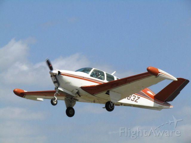 Beechcraft 35 Bonanza (N1283Z) - Taking off RWY 24