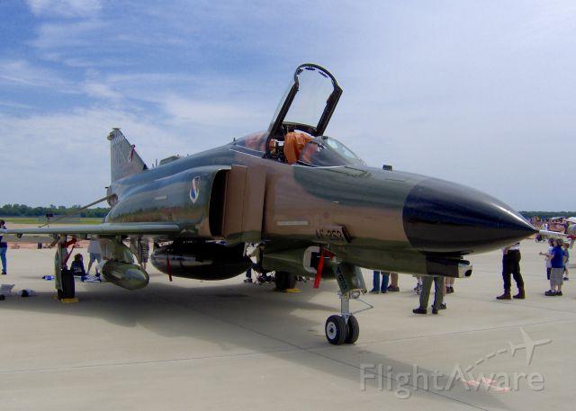 McDonnell Douglas F-4 Phantom 2 (72-1485) - At Barksdale Air Force Base.