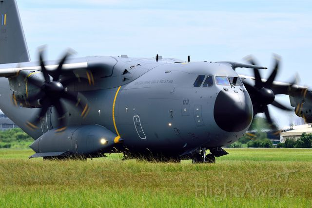 AIRBUS A-400M Atlas (M5403) - Royal Malaysian Air Force