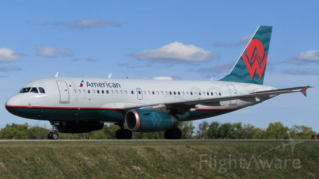 Airbus A319 (N838AW) - ******SELECT FULL FOR HD******br /br /br /br /br /br /America West livery A319 arriving into Buffalo!!br /br /br /br /br /br /******SELECT FULL FOR HD******