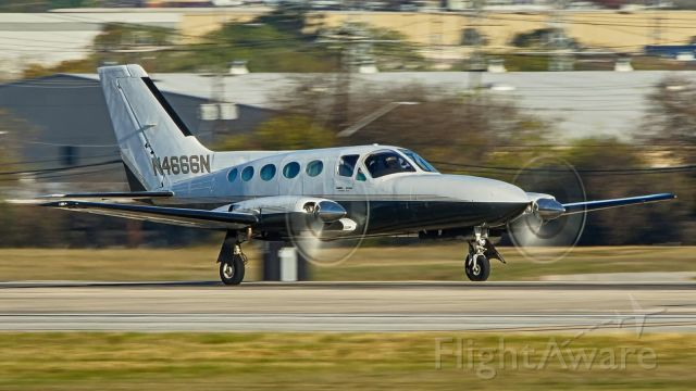 Cessna Chancellor (N4666N) - 22 departure.