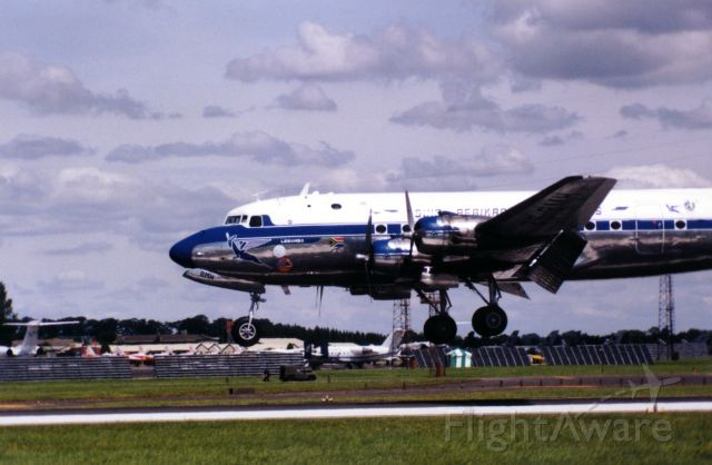Douglas C-54 Skymaster (ZS-BMH) - Lebombo  South  Africa, Biggin Hill  Air Fair 1998