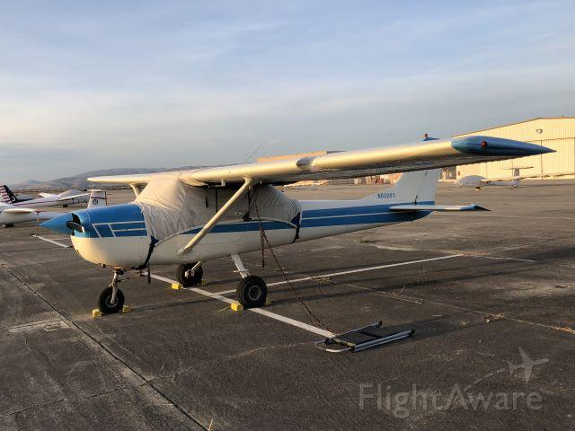 Cessna Commuter (N50283) - On the ramp at Hollister, CA (KCVH) Nov 19, 2017