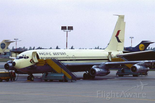 Boeing 707-100 (C-FPWV) - PWA B 707-138B CF-PWV in September 1969 at Düsseldorf (EDDL)