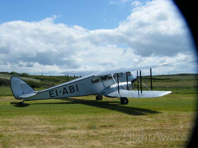 DE HAVILLAND DH-84 Dragon (EI-ABI) - EI-ABI DH 84 DRAGON RAPIDE CN 6105 SEEN HERE AT SPANISH POINT CO CLARE IRELAND JUNE 11TH 2011