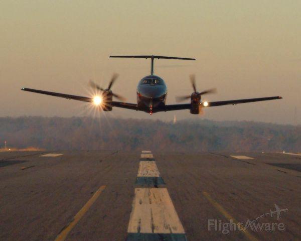 Embraer EMB-120 Brasilia (N500DE) - Duck your head!