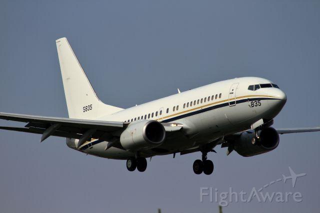 Boeing 737-700 (16-5835) - US NAVY-Boeing C-40A Clipper (737-7AFC)
