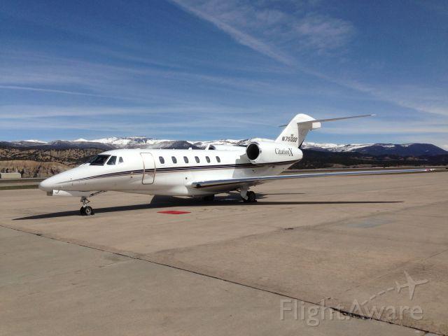 Cessna Citation X (N750DD)