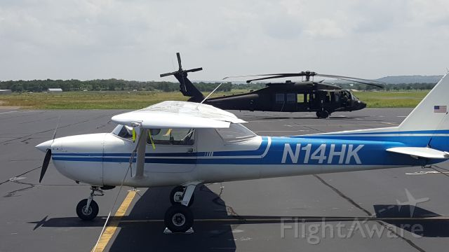 Cessna Commuter (N1234) - UH-60 stopping by for shakes at the T82 Diner