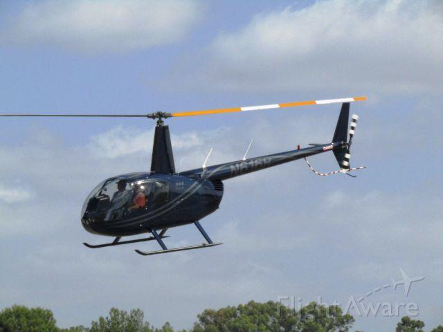 Robinson R-44 (N616R) - Lifting off from KFUL
