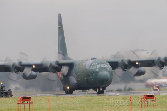 Lockheed C-130 Hercules (75-1076) - Nov.02.2016<br />JASDF Iruma Air Base !!