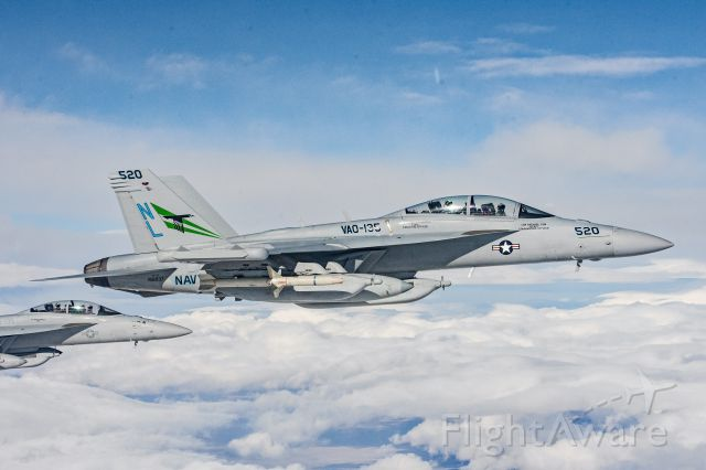 16-8937 — - U.S. Navy VAQ-135 EA-18G Growler participating in a Red Flag mission.