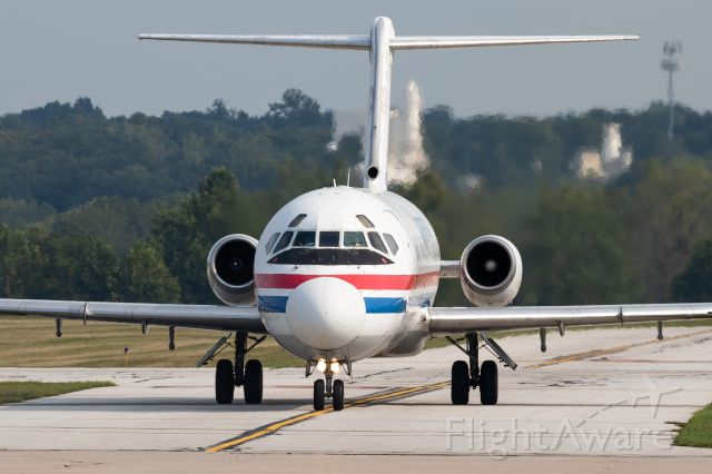 Douglas DC-9-10 (N785TW) - Classic DC9 taxiing in at Purdue. Great to see this 50+ year old jet still flying!