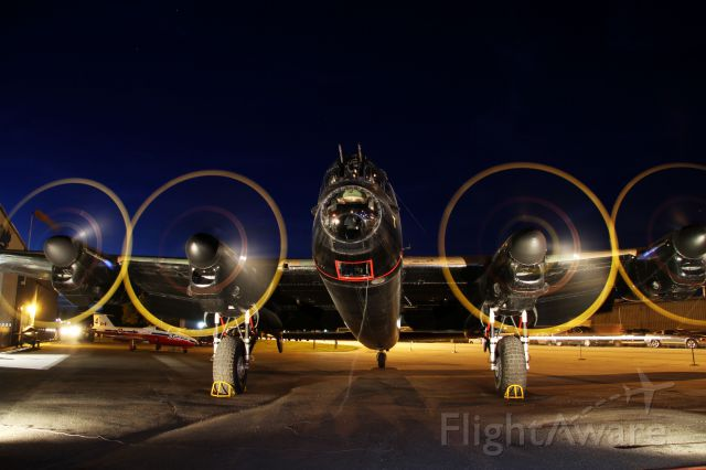 Avro 683 Lancaster (BXFM159) - Roar of Four. This is the first public running of all four engines on the Nanton Lancaster