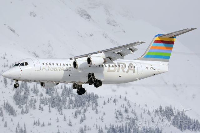 Avro RJ-100 Avroliner (SE-DSR) - On final for rwy26