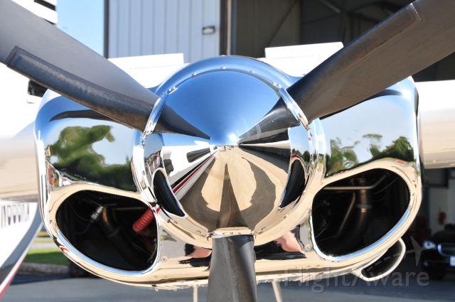 Aero Commander 500 (N666KA) - Seen at KGAI Open House on 10/9/2010.