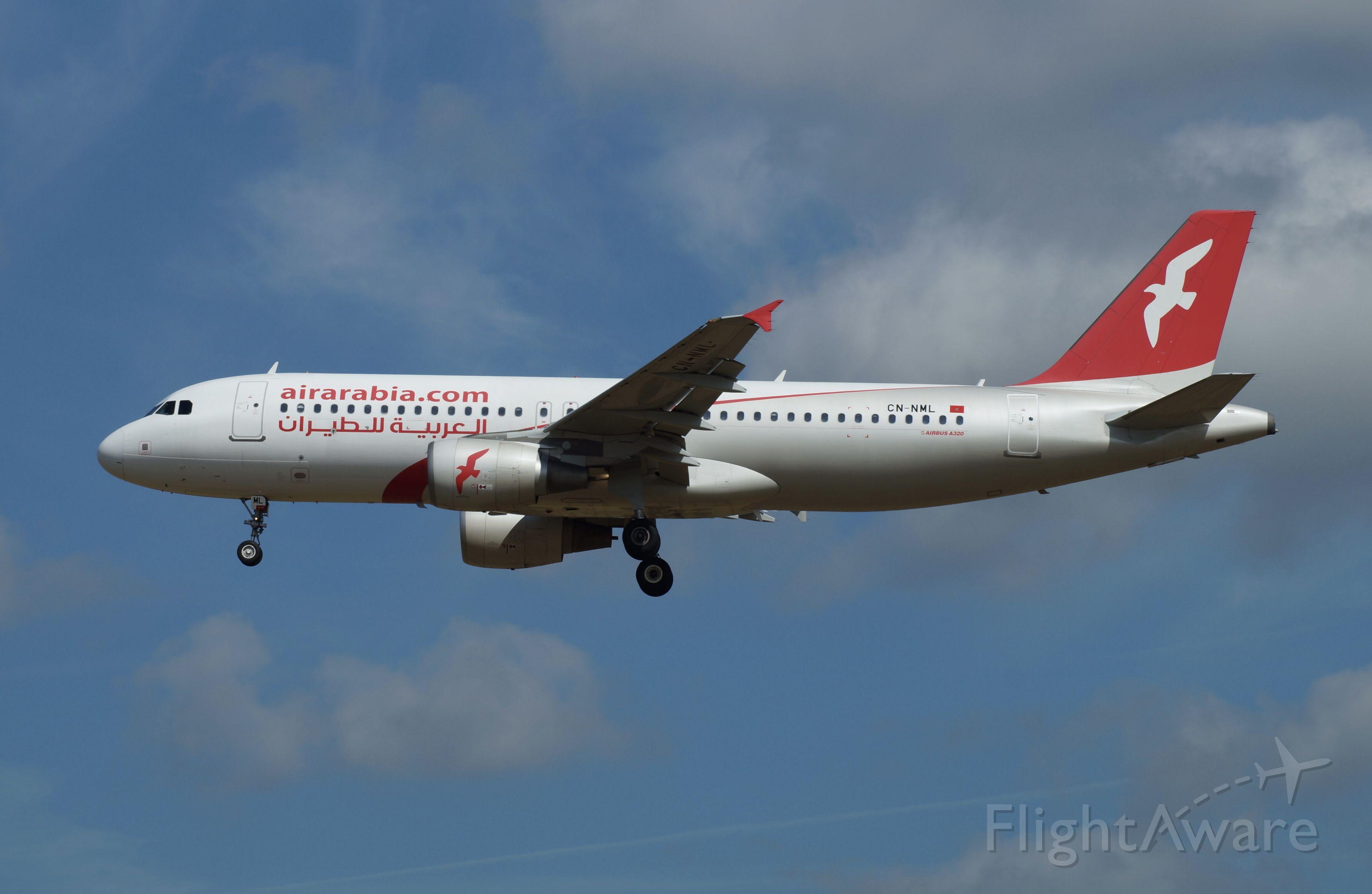 Airbus A320 (CN-NML)