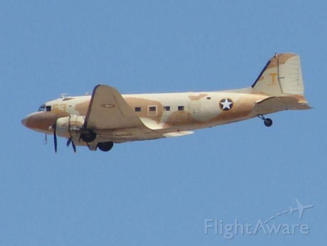 Douglas DC-3 (N53ST) - CAF C47 3-2-2013 @ Phoenix Gateway