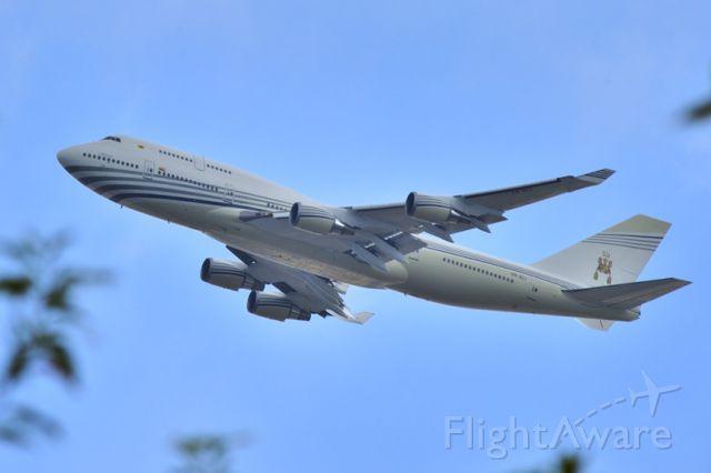 Boeing 747-400 (V8-ALI) - 2015 - NOW Stored 03/2017