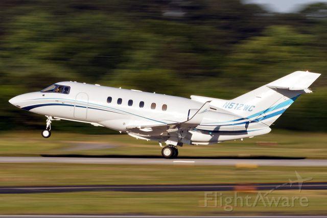 Raytheon Hawker 800 (N512WC)