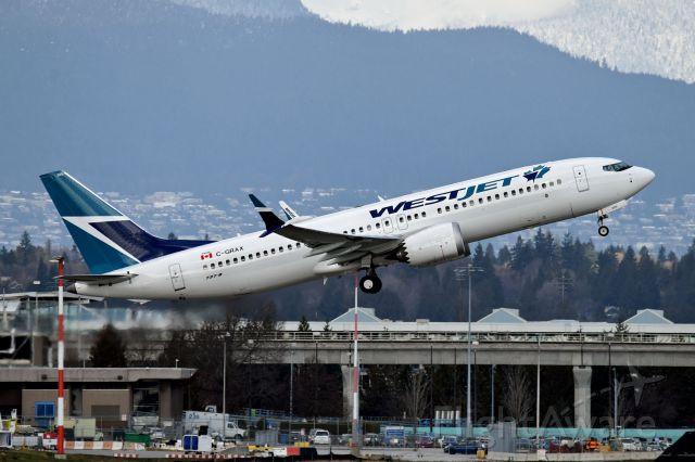 Boeing 737 MAX 8 (C-GRAX)