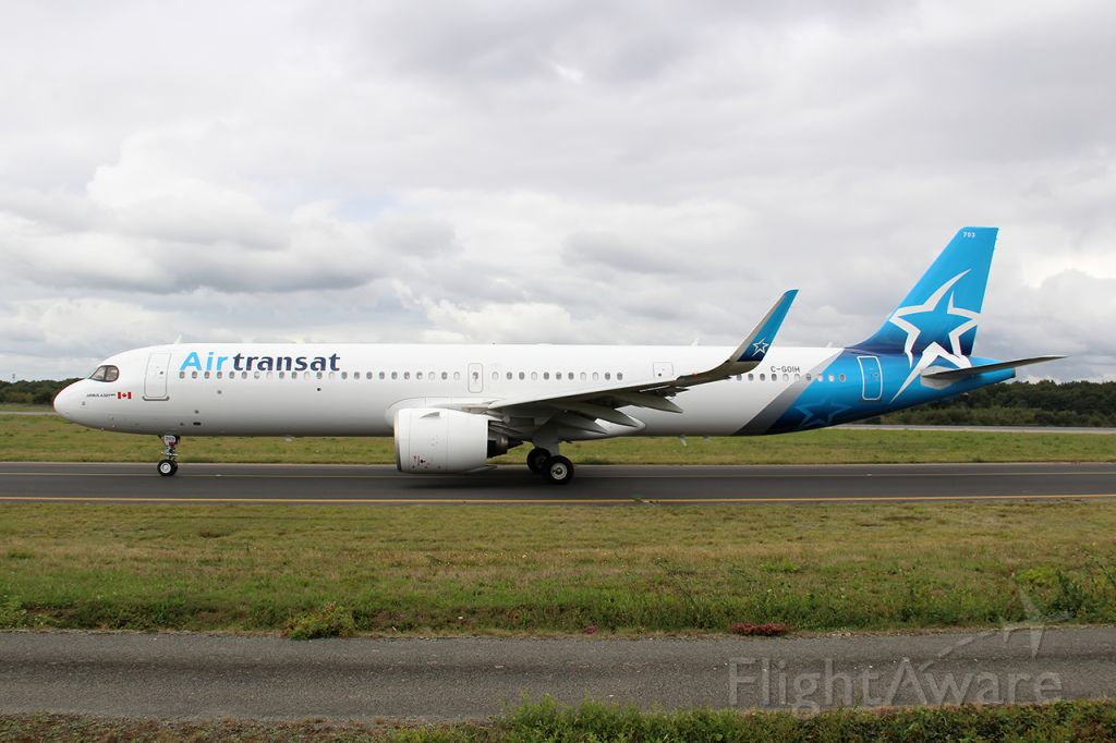 Airbus A321neo (C-GOIH) - TS607 / TSC607