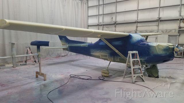 Cessna Skyhawk (N6400V) - Blue Coat at Boss Inc